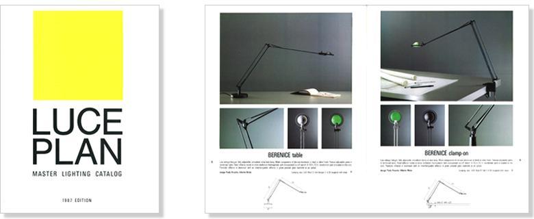 Paolo rizzatto grafica for Luceplan catalogo